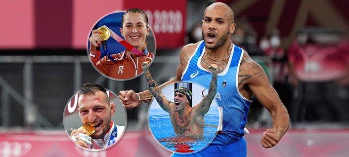 Hrdinové LOH: dominantní plavci a běžci, zlatostříbrná tenistka i Krpálek