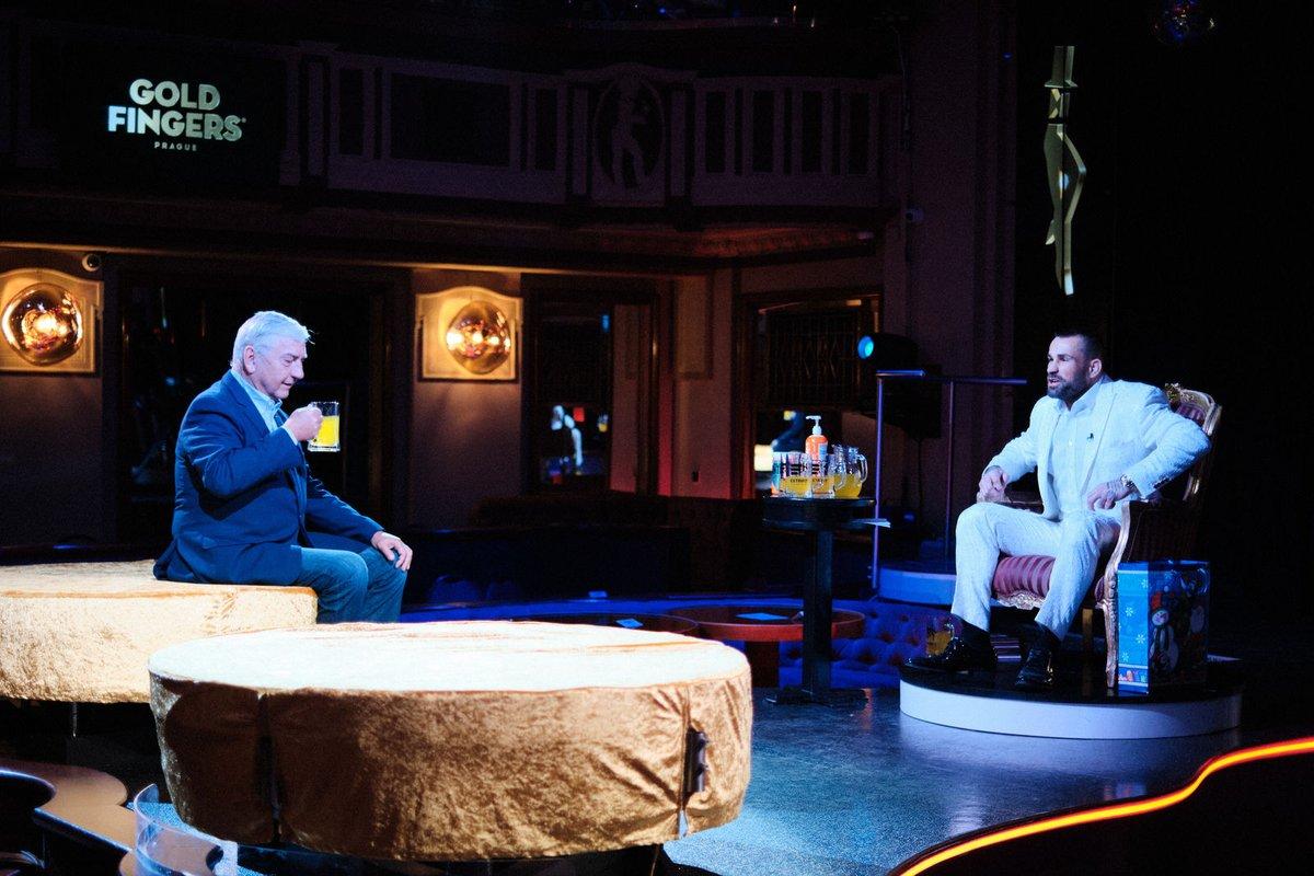 Miroslav Donutil byl dalším hostem populární Karlos show