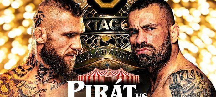 Pirát vs. Vémola. Oktagon ohlásil velký duel, uskuteční se 30. prosince