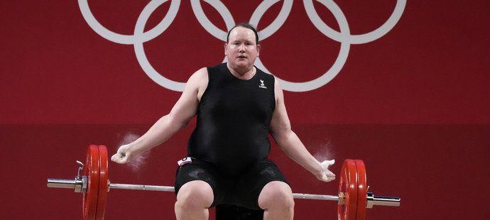 Snažení Laurel Hubbardové na olympijských hrách v Tokiu skončilo neslavně