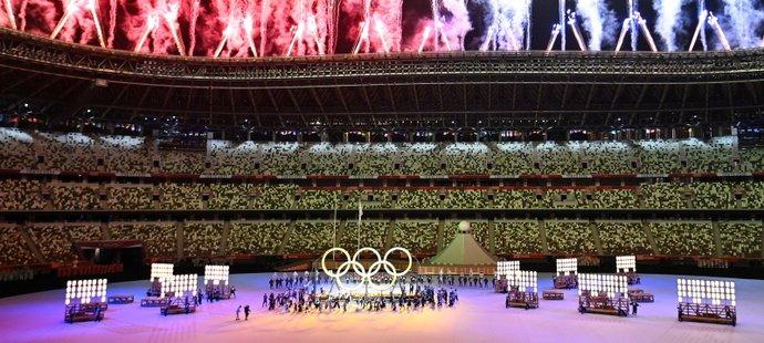 Zahajovací ceremoniál olympiády v Tokiu