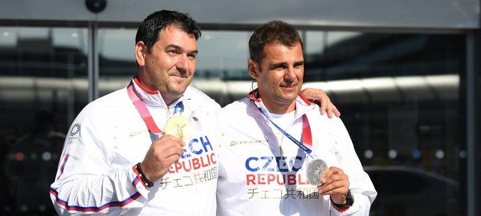 David Kostelecký a Jiří Lipták jsou zpátky doma