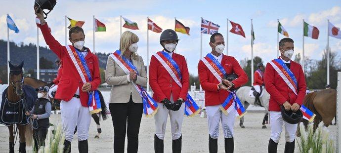 Hezký zážitek, slaví Kellnerová triumf v Poháru národů. Do Tokia pro medaili?