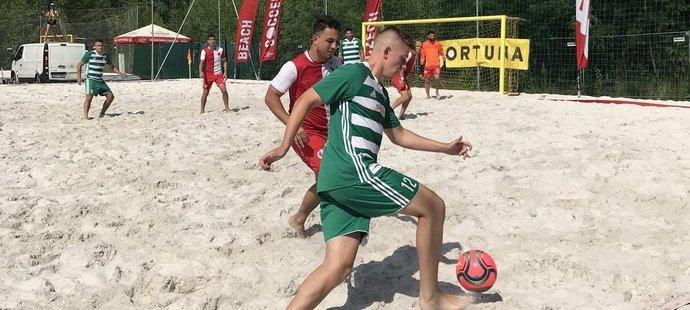 Plážoví fotbalisté Bohemians se v základní části museli vypořádat i s komplikacemi ohledně návratu z Portugalska