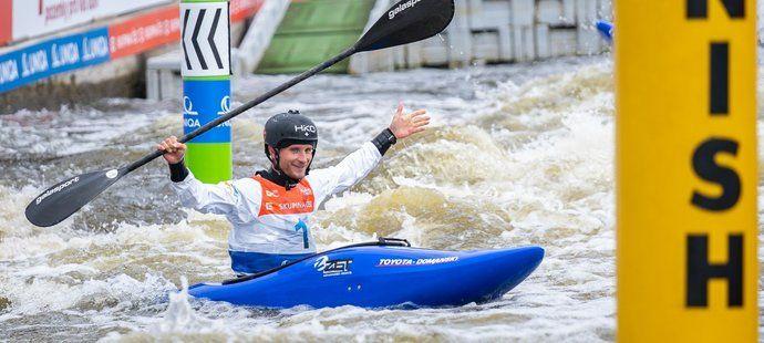 Vít Přindiš ovládl na MS kvalifikaci extreme slalomu