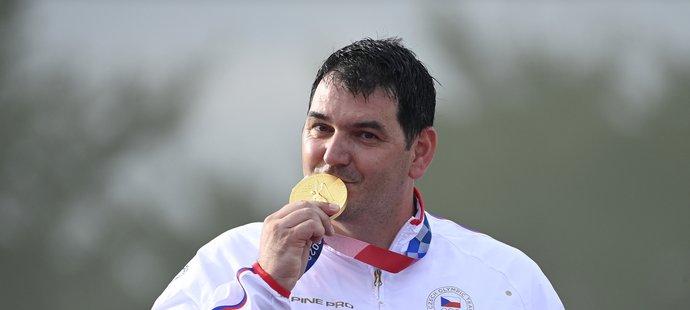Jiří Lipták se zlatou medailí