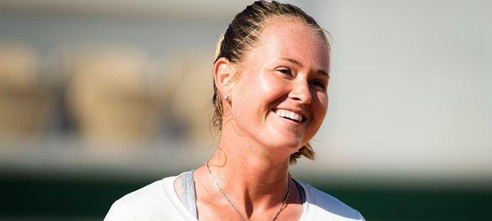Typický úsměv Marie Bouzkové