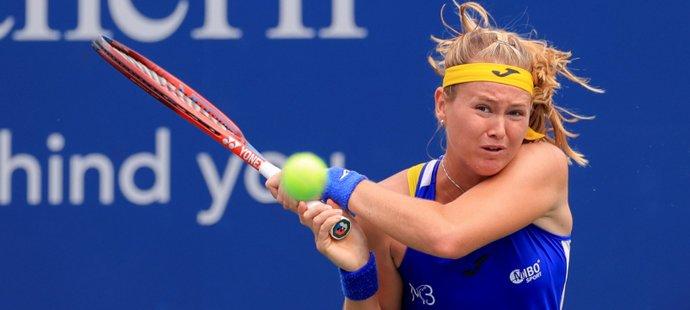 Česká tenistka Marie Bouzková na US Open vyzve Japonku Naomi Ósakovou