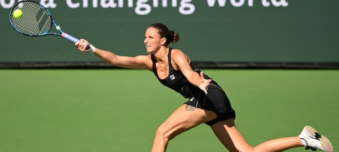 Karolína Plíšková skončila v Indian Wells ve 3. kole. Turnajová jednička prohrála nečekaně s Brazilkou Beatriz Haddadovou Maiaovou