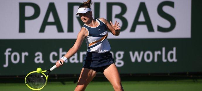 Barbora Krejčíková začala v Indian Wells vítězně