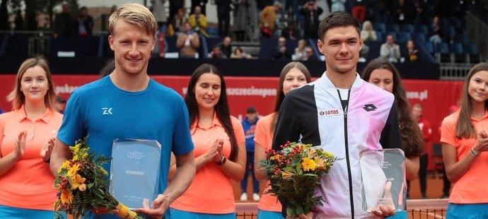 Český tenista Zdeněk Kolář vyhrál slušně obsazený turnaj v Polsku