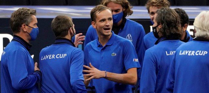 Laver Cup patří nadále evropským tenistům