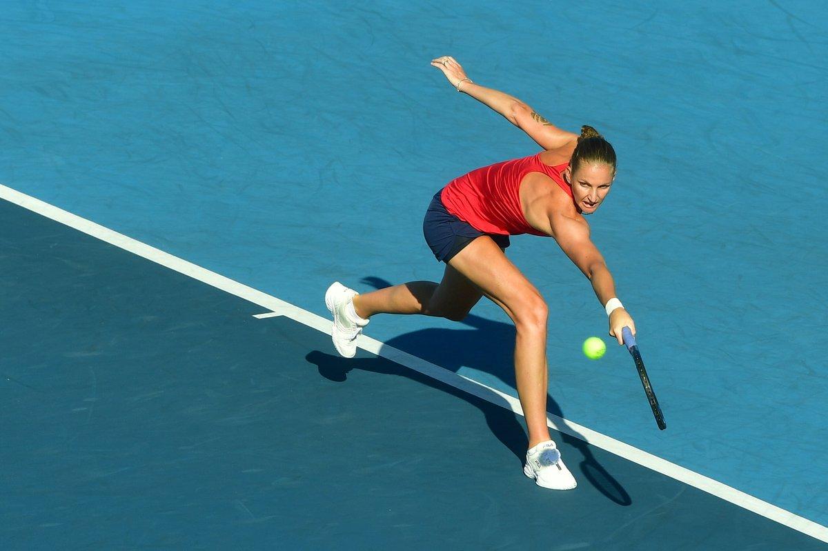 Karolína Plíšková ve třetím kole olympijského turnaje