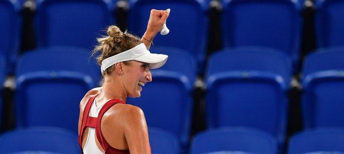 Markéta Vondroušová je ve finále, další medaile je jistá!