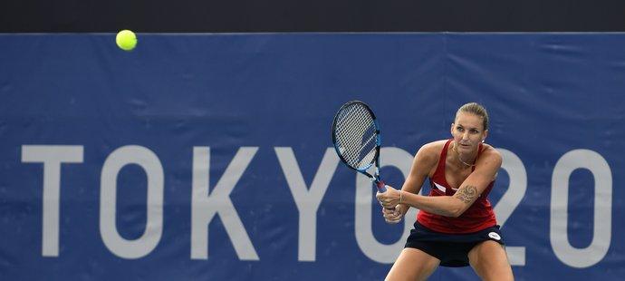 Karolína Plíšková ve druhém kole olympijského turnaje