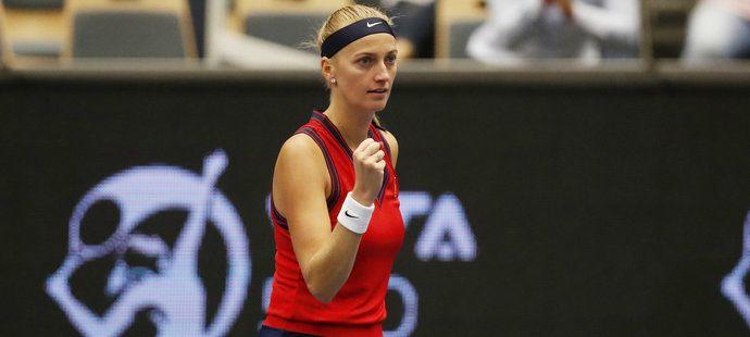 Petra Kvitová postoupila v Ostravě do semifinále