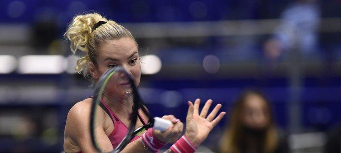 Tereza Martincová na turnaji v Ostravě končí ve čtvrtfinále