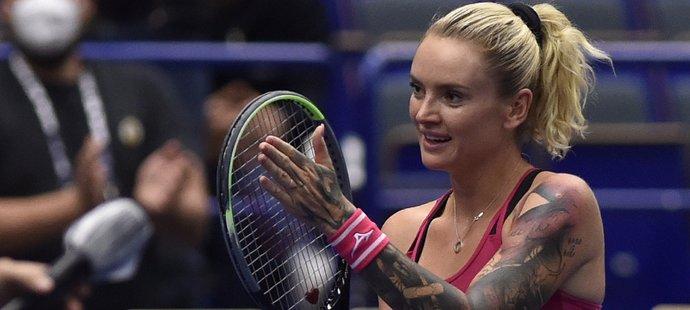 Česká tenistka Tereza Martincová