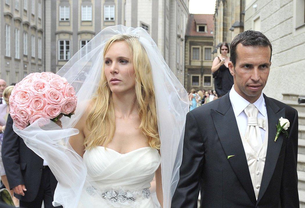 Manželství Radka Štěpánka a Nicole Vaidišové se rozpadlo