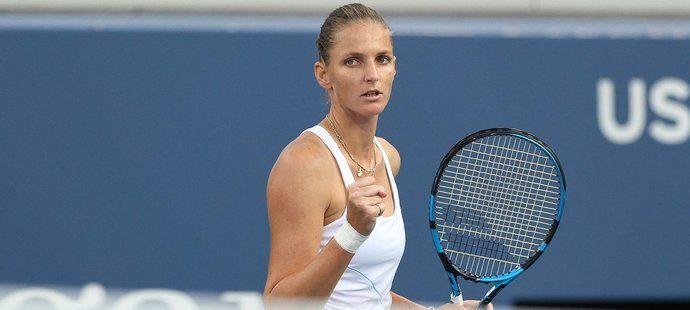US Open: Plíšková postoupila do osmifinále. Končí Kvitová i Bartyová