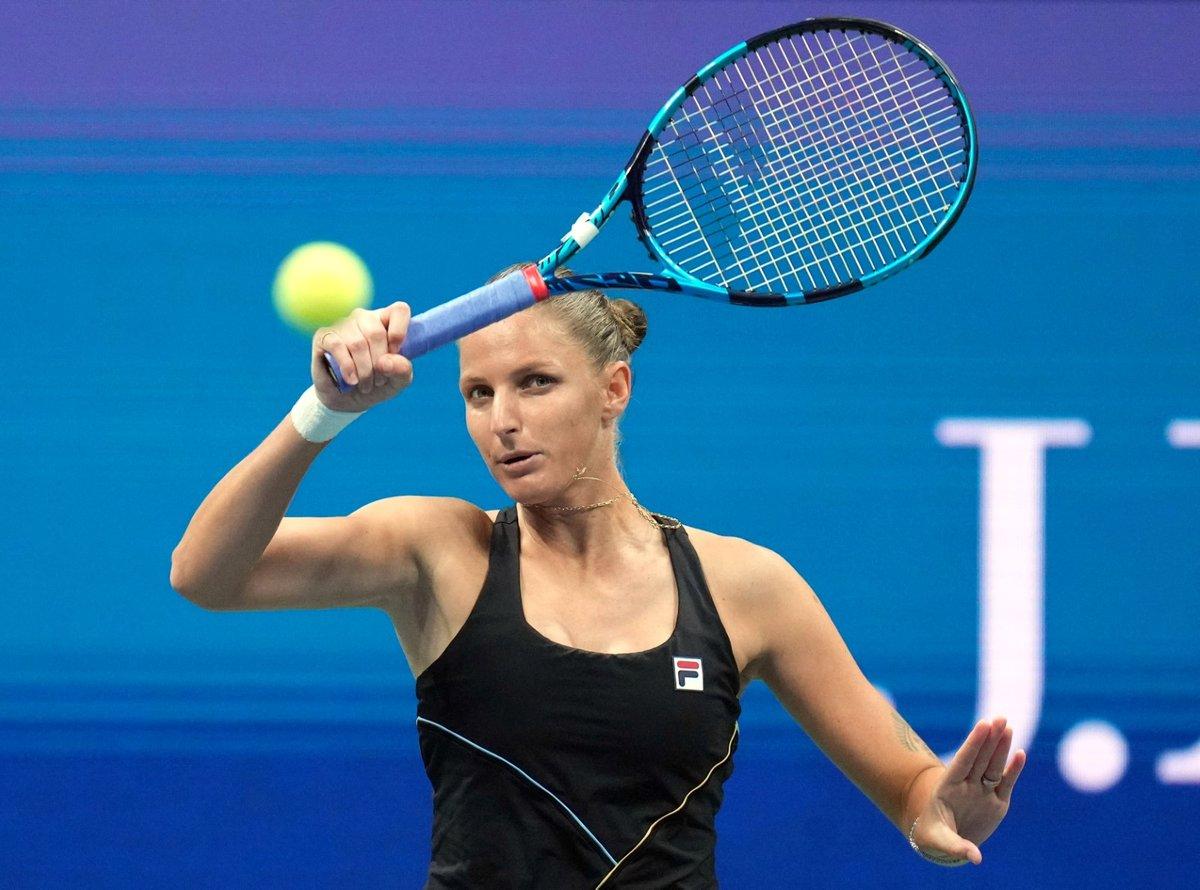 Karolína Plíšková podlehla ve čtvrtfinále US Open Řekyni Marii Sakkariové