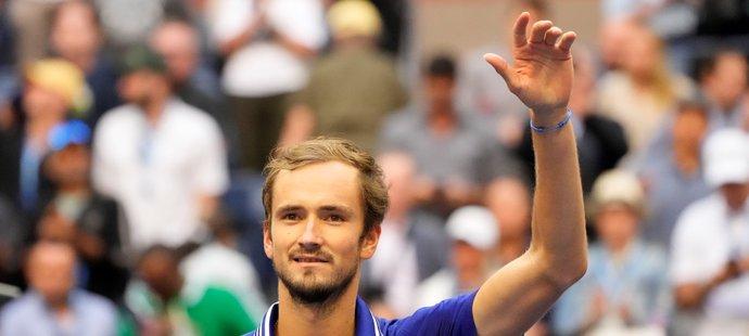 Daniil Medveděv postoupil podruhé v kariéře do finále US Open