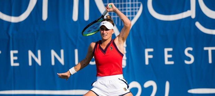 Markéta Vondroušová si v Chicagu zahraje čtvrté letošní semifinále