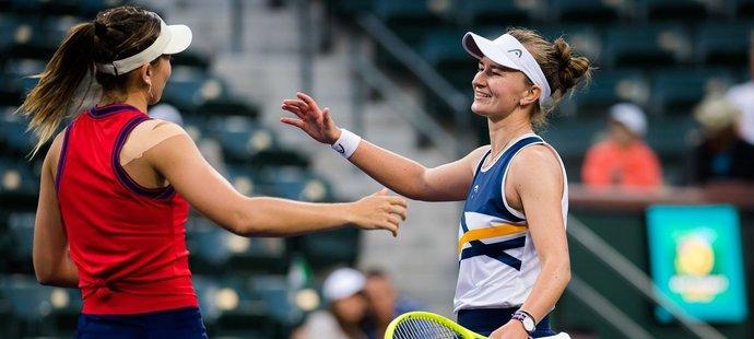 Barbora Krejčíková v Indian Wells vypadla v osmifinále, nestačila na kamarádku Paolu Badosaovou
