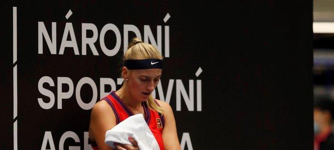 Petra Kvitová schytala v semifinále kanára za 25 minut