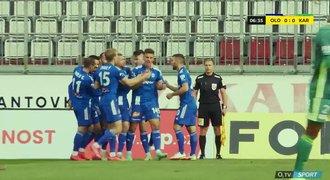 ONLINE + VIDEO: Olomouc - Karviná 1:0. Růsek rychle otevřel skóre