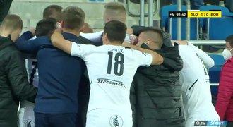 Slovácko - Bohemians 1:0. Domácí druzí v lize, v závěru rozhodl Cicilia
