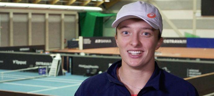 Šwiateková učí Poláky milovat tenis a chválí Čechy: Máte skvělý systém