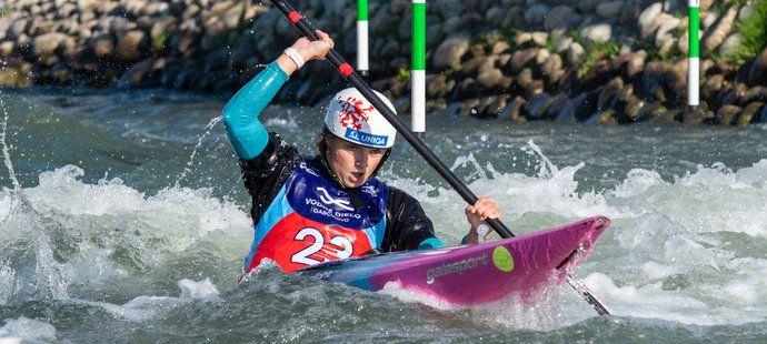 Antonie Galušková skončila při svém prvním finále na MS šestá
