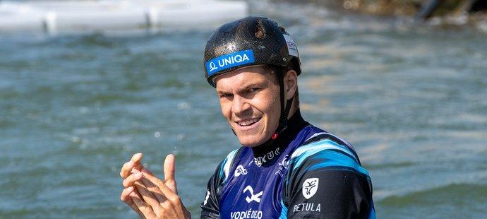Vodní slalomář Václav Chaloupka získal jako první český kanoista od roku 1977 titul mistra světa