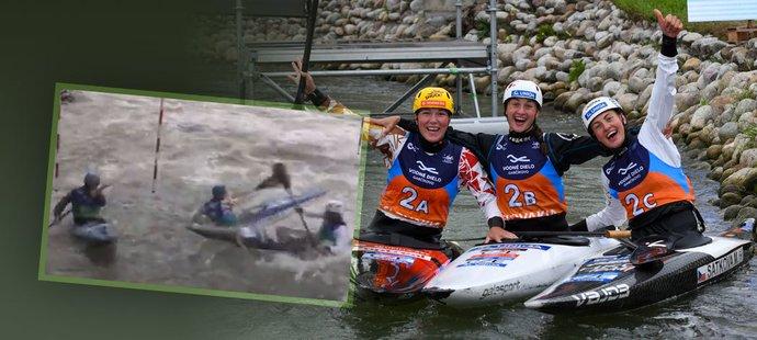 Medaili z MS mají všechny hlídky kromě favorizovaných vodních slalomářů