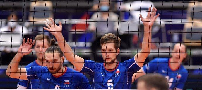 Čeští volejbalisté podlehli ve čtvrtfinále ME Slovinsku