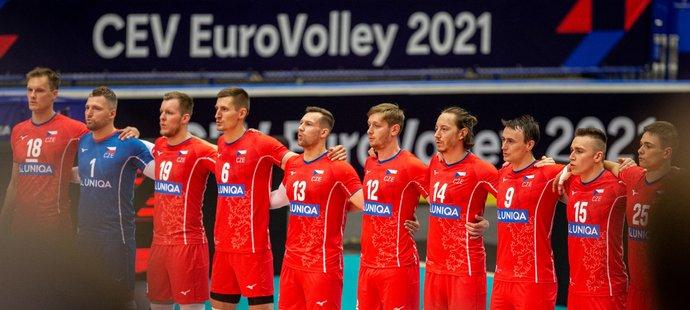 Čeští volejbalisté se v osmifinále ME utkají proti olympijským vítězům z Tokia