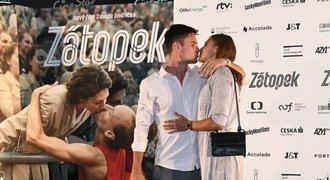 Seemanová s přítelem o filmu Zátopek: Řekli, v čem se liší od slavného páru