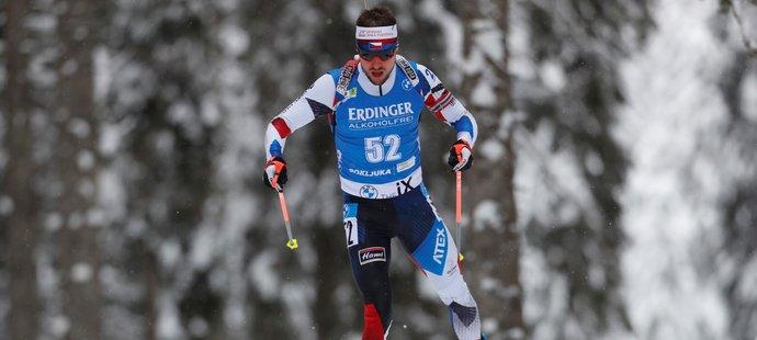 Michal Krčmář byl ve sprintu nejlepší z Čechů