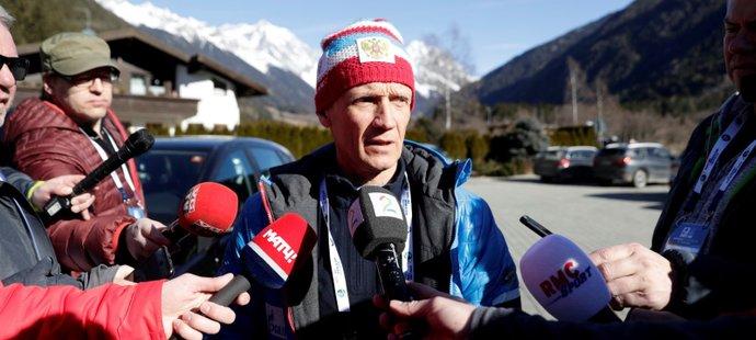 Šéf ruského biatlonu Vladimir Dračev čelí ve své zemi vlně nevole