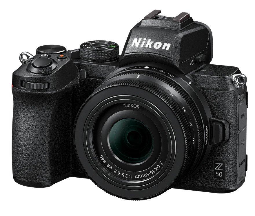Bezzrcadlovka Nikon Z50 + 16–50 mm, 25 990 Kč, megapixel.cz