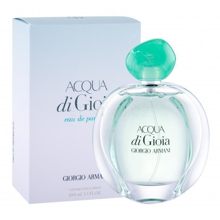 Giorgio Armani, Acqua di Gioia, 100ml, 1609 Kč, parfemy-elnino.cz