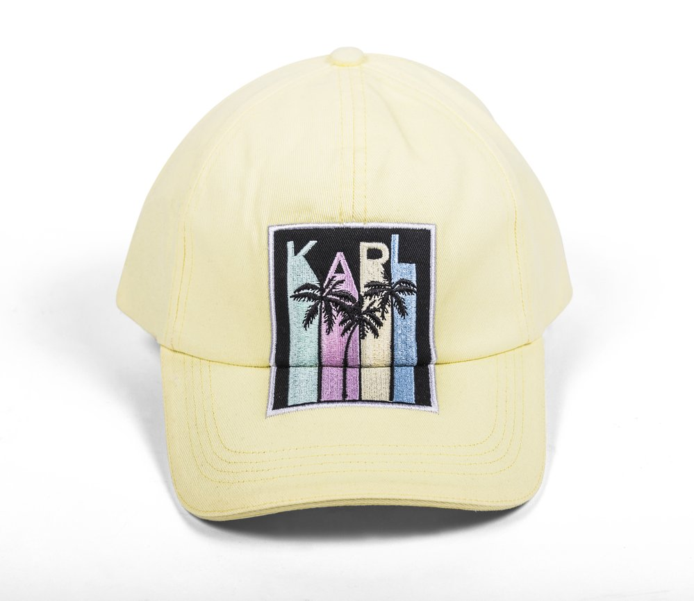 Kšiltovka Karl Lagerfeld obchod Karl Lagerfeld&Odd Molly, Fashion Arena Prague Outlet, původní cena 1 899 Kč, outletová cena 1 329 Kč