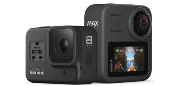 Noví vládci sportovních kamer. HERO8 Black a Max zadupávají do země veškerou konkurenci