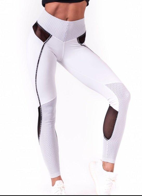 Bílé legíny, Nebbia, prodává: www.nebbia.fitness, 1490 Kč