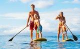 Paddleboarding? Skvělá posilovna i zábava pro celou rodinu