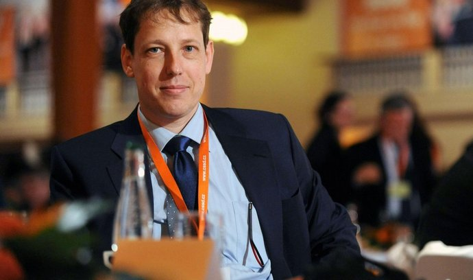 Stanislav Gross na sjezdu ČSSD v roce 2009
