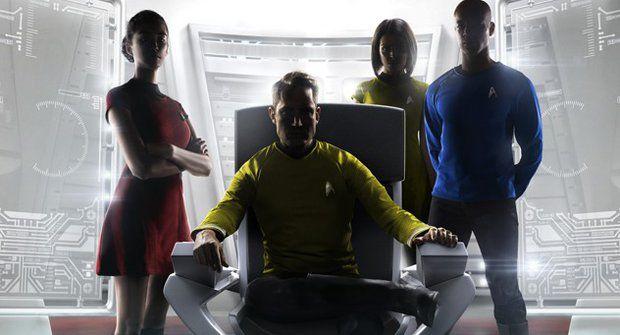 Kapitánem ve Star Treku na vlastní oči