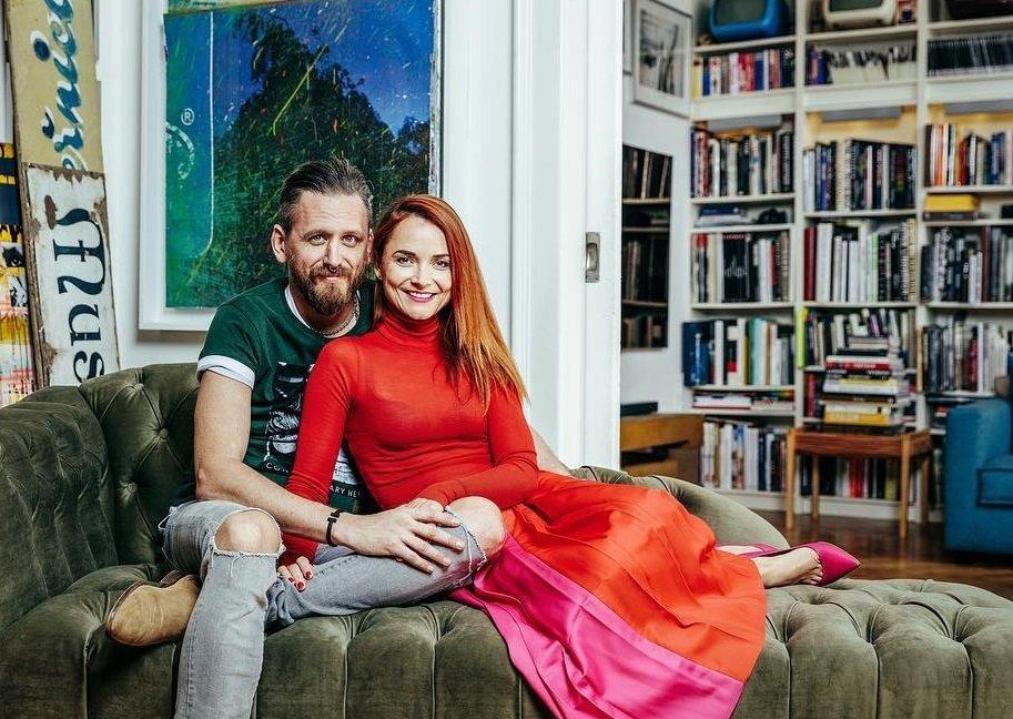 Radka Třeštíková s manželem Tomášem