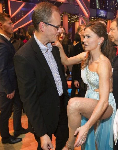 Olaga Šípková se zranila při třetím tanečním večeru.